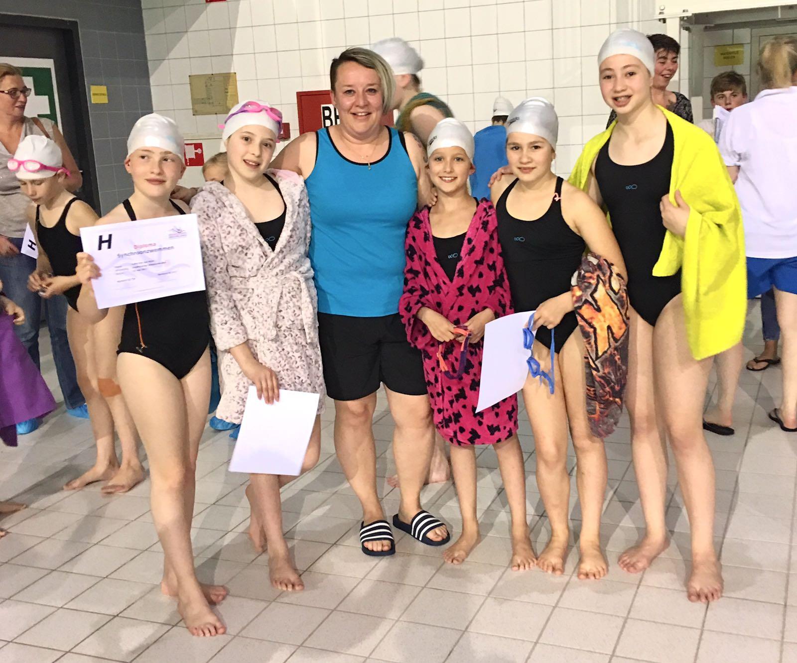 Synchroonzwemmen Eindhoven 1