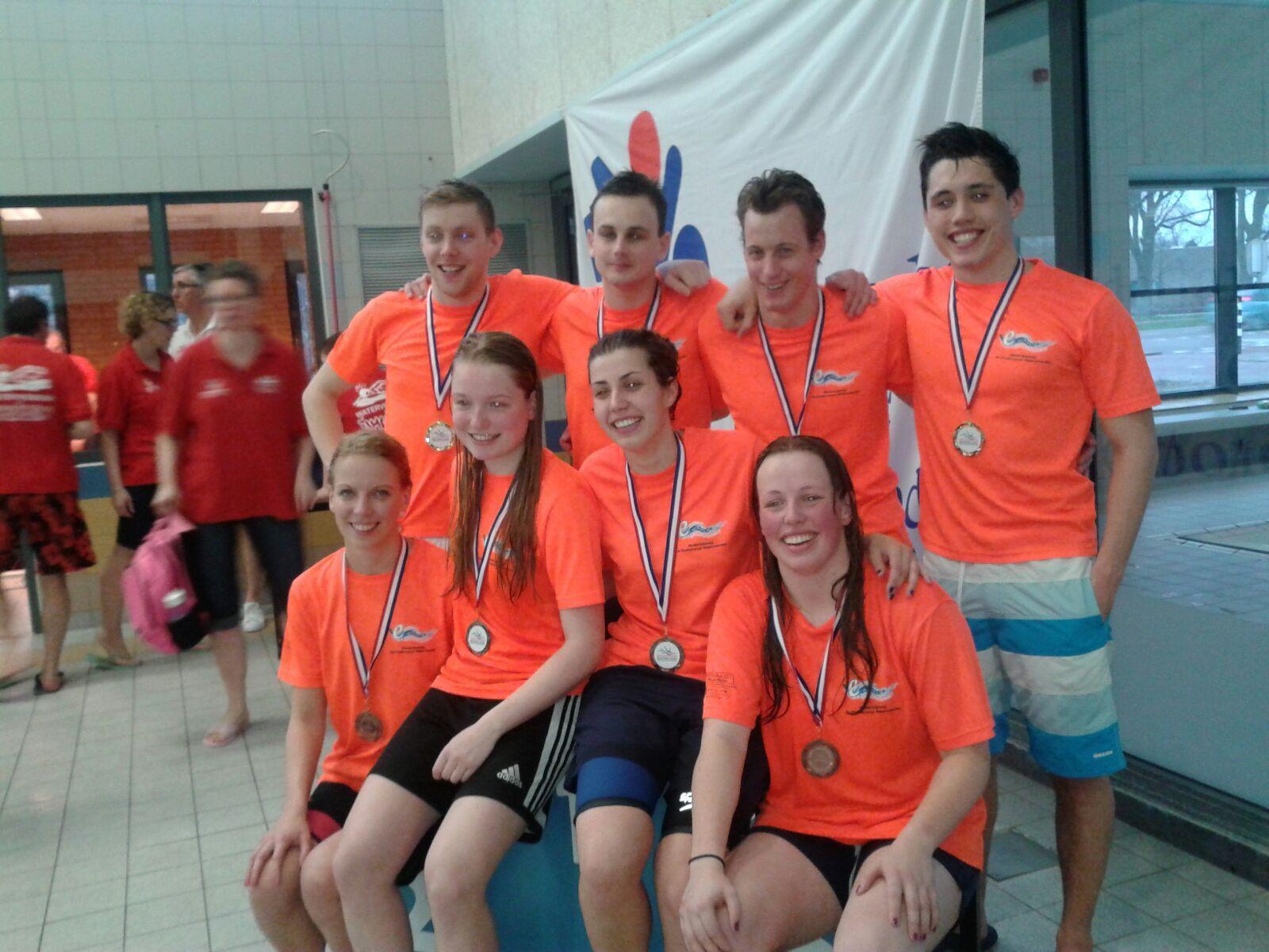 Zeer succesvolle BondsZwemKampioenschappen! (BZK)